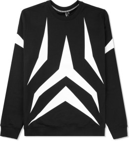 Uppercut Black Spinnaker Crewneck Sweater Picture
