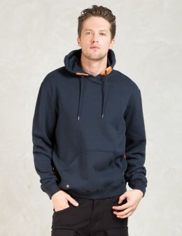 10.DEEP Navy       Red Tail Hoodie Picture
