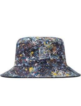 Medicom Toy Sync.-Jackson Pollock Studio Reversible Bucket Hat Picture