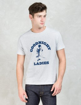 """DELUXE Grey """"Good Night Ladies"""" T-shirt Picture"""