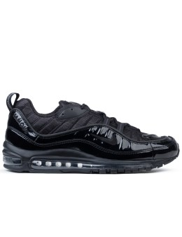 "NIKE Nikelab Air Max 98 X Supreme ""Triple Black"" Picture"