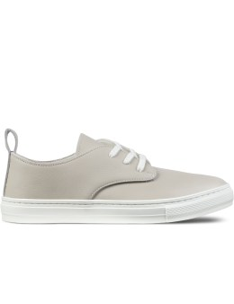 buddy Grey Corgi Low Smooth Shoes Picture