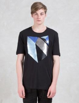 DIESEL BLACK GOLD Taselo-geo 40/1 Cotton Jersey T-Shirt Picture