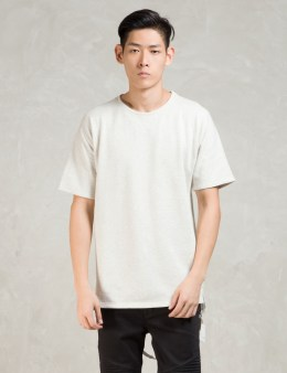 STAMPD White S/S Tyse Crew W/strap T-Shirt Picture