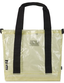 Stussy Clear Clear Tarp. Tote Bag Picture