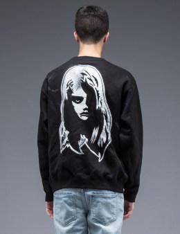 SAM by Warren Lotas Black Crewneck Sweatshirt Style D (Size M) Picture