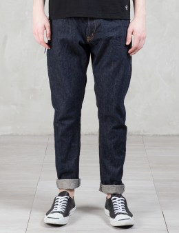 Denim by Vanquish & Fragment One Washed Tapered Denim Pants Picture