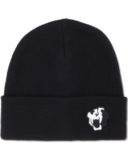NONAGON Tigher Skull Embroidery Beanie Picture
