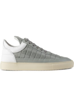 Filling Pieces Grey Spoke Low Top Sneakers Picture
