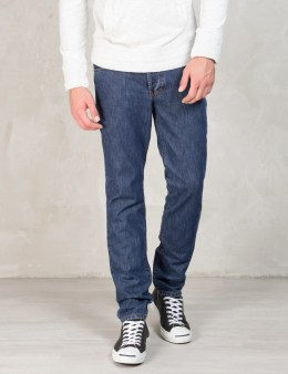 Commune De Paris Blue Gn.denim Pants Picture
