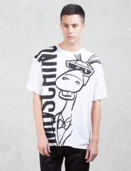 MOSCHINO Horse Print S/S T-Shirt Picture