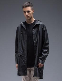 RAINS Black Spots Long Jacket Picture
