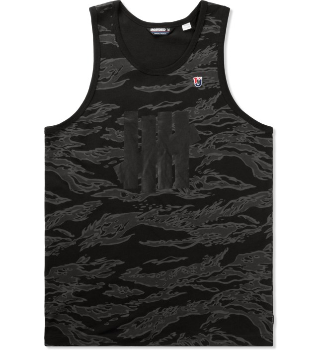 UNDEFEATED Grey Camo Five Strike Tank Top