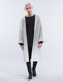 thom/krom Oversize Knitwear Jacket Picture