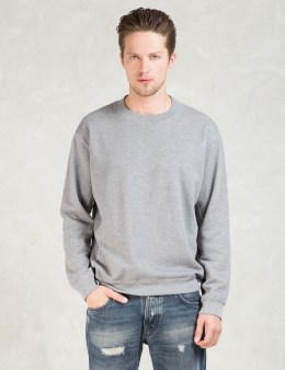 N.Hoolywood Grey L/S Crewneck Sweatshirt Picture