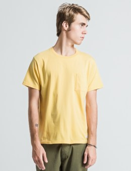 "DELUXE Yellow ""Pina Colada"" T-Shirts Picture"