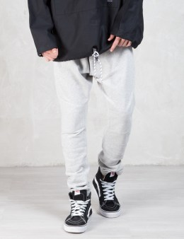 MAGIC STICK Grey Classic Drop Crotch Sweatpants Picture
