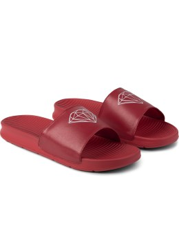 Diamond Supply Co. Red Fairfax Slide Picture