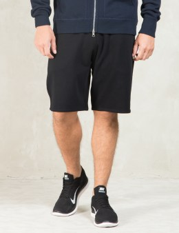 REIGNING CHAMP Black Core Sweatshorts Picture