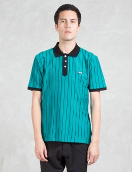 Stussy Striped Tennis Polo Picture