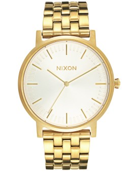 Nixon Porter with White Sunray Dial Picture