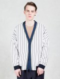 GENERAL IDEA Black Stripes Cardigan Picture