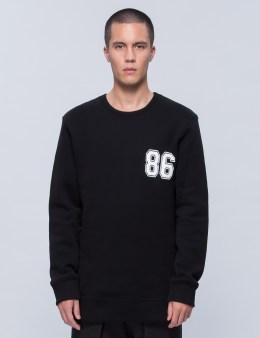 HELMUT LANG Oversized Varsity Sweatshirt Picture