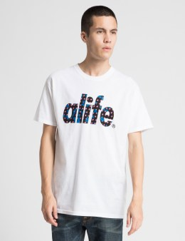 ALIFE White Comrade T-Shirt Picture