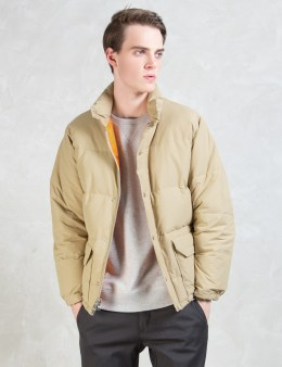 Human Made Beige Down Jacket Picture
