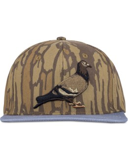 Staple Brown/Grey Ironwood Snapback Cap Picture