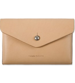 Hender Scheme Natural One Piece Card Case Picture