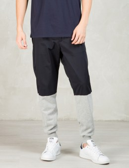Still Good Navy/grey Chino Jersey Mixed Casual Sport Pants Picture