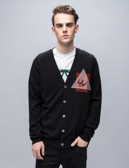 McQ Alexander McQueen Swallow Glype Crew Knit Cardigan Picture