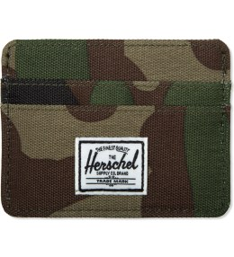 Herschel Supply Co. Woodland Camo Charlie Cardcase Picture