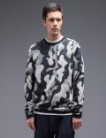 YMC Camo Crewneck Knit Sweater Picture