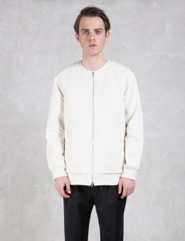 Discovered Back Knit Blouson Picture