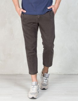 """BEDWIN & THE HEARTBREAKERS Charcoal """"Jessee"""" 9/L Chino Pants Picture"""