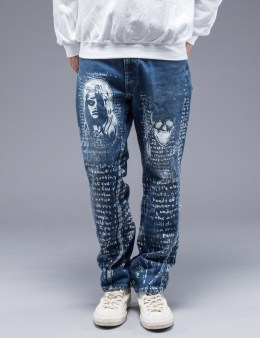SAM by Warren Lotas Faded Blue Jeans Style C (Size 32) Picture
