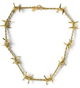 AMBUSH Gold Classic Chain 3 Necklace Picture