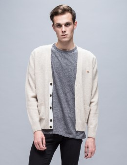 MAISON KITSUNE Lambswool Classic Cardigan Picture