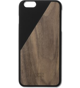 Native Union Black Clic Wooden Iphone6+ Case Walnut Picture