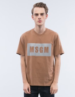 MSGM Box Logo S/S T-Shirt Picture