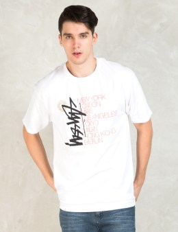 Stussy White Buana Stack T-Shirt Picture