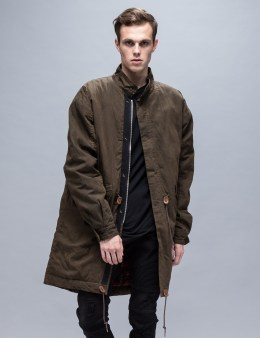 REPRESENT Clothing Military Zip Parka Picture