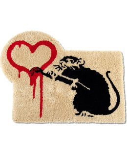 "Medicom Toy Sync.-Brandalism ""Love Rat"" Mat Picture"