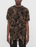 Black Scale Destroyed S/S T-Shirt Picture