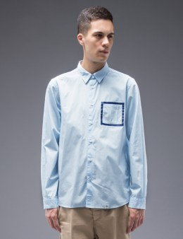 """BEDWIN & THE HEARTBREAKERS """"Tailor"""" Broad Print L/S Shirt Picture"""