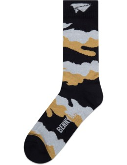Benny Gold Fog Pattern Socks Picture