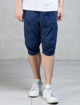 CLOT Overall Wave Pattern Panel Shorts Picture