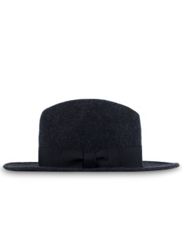 Maiden Noir Wide Brim Wool Felt Fedora Hat Picture